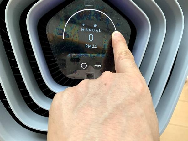 Electrolux (エレクトロラックス) Pure A9 タッチパネルで操作が可能