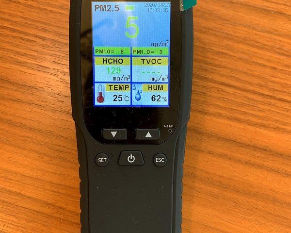 空気汚染測定器、PM2.5計測機
